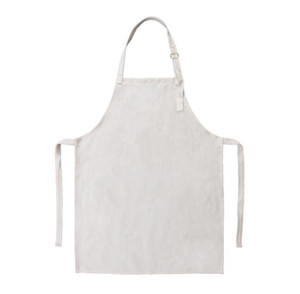 50pcs Sublimation DIY White Blank Cotton Linen Children apron size 60*42cm