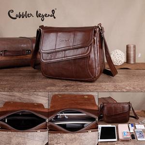Cobbler Legend Flap Genuine Pelle Borsa in pelle femminile Borse in pelle Brand Handbags Luxury Borse Borse Donne Borse Designer Sacchetti Sac A Main Femme