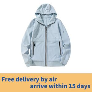 Pietra Pirati 20ss autunno e giacca termica invernale sottile in pile di colore del cappotto del cappuccio solido il trasporto libero