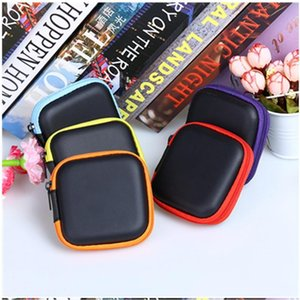 2020 Mini Zipper Earphone bag portable headphone carrying storage box for charger cable key earphone coin free shipping