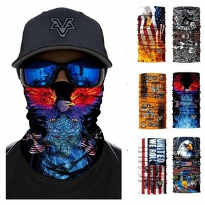 Hiking USA BALD Eagle стильный велосипед Make Mask Waterform Magic Scarf Motorcycle Bandanas Бесшовные Balaclava Aa8g #