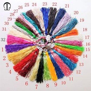 100pcs lot 32 couleurs franges de soie gluge pompom garniture pompons décoratifs pour cousures de rideaux vêtements maison décoration accessoires h jllnes