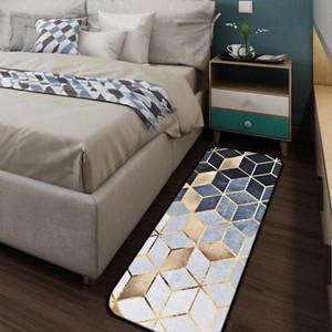Mozaik Altın Halı Coral Polar Yumuşak Banyo Yatak odası Kapı Sundurma Mutfak Pencere Boş Ev Livingroom Tapete h7yi #