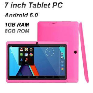 Tablet PC 7-Zoll-Quad-Kern 1024 * 600 HD-Bildschirm Android 6.0 Allwinner A33 1 GB + 8 GB mit Bluetooth Dual Camera Taschenlampe Q88