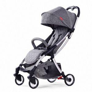 Playkids US-8 складного легкого ребенка коляски складной младенца PRAM One Hand складывание и открытие 32tK #