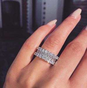 Синтетическое диамант геометрического кольца полумесячный алмаз Сваровски кристаллические кольца 8 и вещей до 100