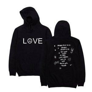Fashion-Peep Letters Sweatshirts Pullovers 2019 Mens nipsey hussle Hoodies Rap Hiphop R.I.P Lil