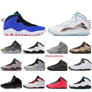 Cheap New Wings Seattle 10 10s Mens Basketball Shoes Bobcats Desert Camo Tinker Westbrook Cement Steel Grey Powder Blue Trainers Sneakers