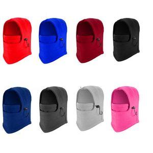 10 couleurs chaudes Chapeaux d'hiver en plein air Ski Balaclava Cyclisme Masque Scarf Sport équitation Ski Cap CYZ2847 150pcs