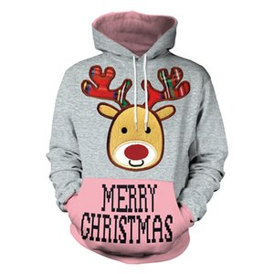 Hot Sale Sweatshirts Christmas HOODIE Men Women Best Quality Tom Casual Pullover Sweatshirts Fashion Hoodies Christmas Decoraction