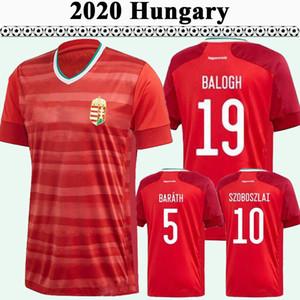 2020 Hungria Willi Orban National Social Soccer Jerseys Copa Europeia Szoboszlai Balogh Barath Home Vermelho Camisas Futebol Feminino Foci Mezek