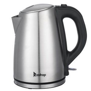 WACO Electric Kettle,110V US Standard 1500W 1.8L Stainless Steel , Portable Fast Hot Water Kettle for Tea and Coffee Boiler Heater Silver