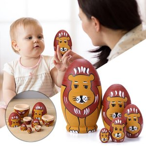 13 Style boys wooden women mateliska dolls Russian toy packaging dolls best es for children Christmas and New Year gifts handicraft hands