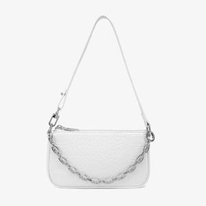 High quality bag ladies handbag crossbody bag wild crocodile pattern long stick niche retro single shoulder 2020 underarm bag 1112