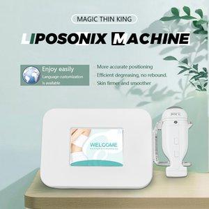 2021 Hifu body slimming machine liposonix Weight reduce 2 in 1 liposonix hifu face and body skin tightening machine CE DHL free shipping