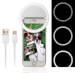 2020 Manufacturer charging LED flash beauty fill selfie lamp outdoor selfie ring light rechargeable for all mobile phone Free