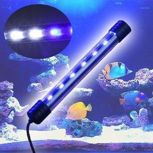 2019 nuevo 3.5W Sumergible Aquarium Aquarium Fish Tank LED Light Bar Barra de la lámpara Strip de la Lámpara de la UE Enchufe Dropshipping PET Supplies1