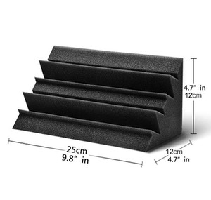Bass Trap Foam Wall Corner Audio Sound Absorption Foam Studio Accessorie Acoustic Treatm jllyoC yummy_shop