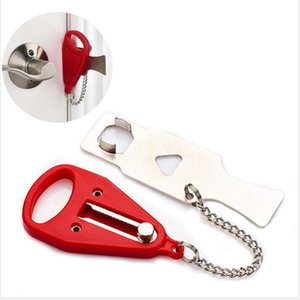 Portable Safety Lock Kid Safe Security Door Lock Hotel Portable Latches Anti-theft Locks Home Tools WY372w