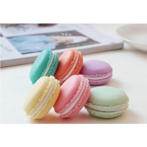 Eco-friendly Candy Color Macaron Storage Box Jewelry Packaging Display Pill Case Organizer Home Decora jllxTD bdebag