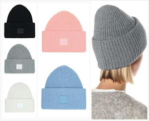 Beanie Fashion Street Man Woman Cráneo Caps Transpirable Sombrero Cubo 16 Color Color