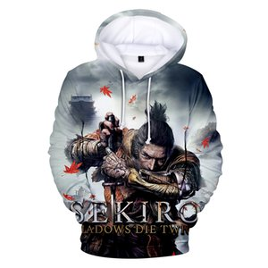 New 3D Sekiro Shadow Die Twice Hoodies Men Women Fall Winter Fashion Warm Hoodies Boy's Girl's Sweatshirts fz2692
