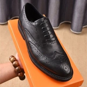 yuancheng5 Business casual shoes 207701 Men Dress Shoes Moccasins Loafers Lace Ups Monk Straps Boots Drivers Real leather Sneakers Shoes