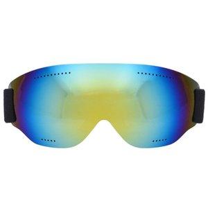 QCSOJ Goggles Anti-sis Marka Kayak Çift Kar Büyük UV400 Gözlük Kayak Katmanları Unisex Sıcak Satış Maskesi Snowboard Exbwo
