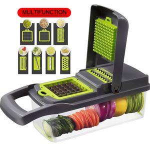 Home Kitchen Accessories Slicer Mumultifunctional Manual Vegetable Cutter Fruit Vegetable Tools Multifunctional Kitchen Slicer