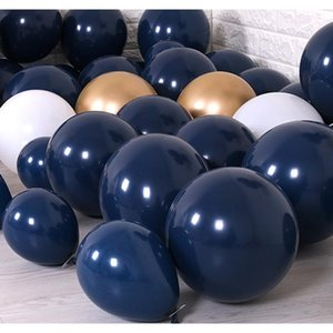 12inch Navy Blue Balloons Latex Dark Blue Ballon Birthday Wedding Anniversary Party Kids Decoration Baby Shower Supplies