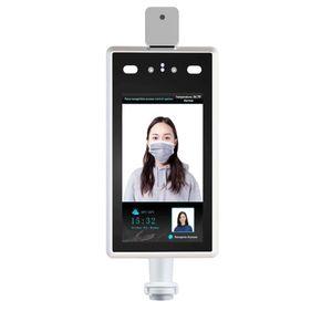 Scanner per il riconoscimento del volto della fotocamera di controllo dell'accesso Direzione umana Telecamera termometro del termometro 1080P per l'ingresso e l'uscita