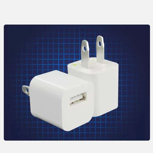 5V 1A AC Home Travel Wall USB Зарядное устройство US Plug Power Adapter для iPhone 5 6 7 8 x Plus для Samsung White Black High Quise
