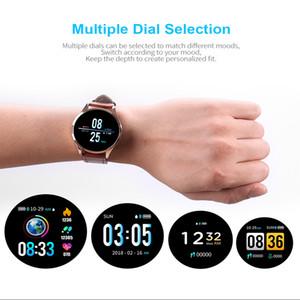 Q8 Pro Schermo Moda Donna intelligente orologio OLED a colori di pressione intelligente Guarda fitness vigilanza dell'inseguitore frequenza cardiaca Sangue Bluetooth