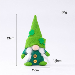 Easter Bunny Gnome Irish Faceless Bunny Dwarf Doll Easter Plush Rabbit Dwarf Holiday Party Table Decoration HHA3490