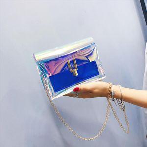 Laser Crossbody Bag For Women Mini Shoulder Bag Circle Small Messenger Womens Handbags Purses evening clutch bags 25