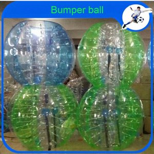 Toptan CE Dia 1.2m PVC Şişme Topu Takım elbise, Tampon Ball, Loopyball / Kabarcık Futbol İçin Kolombiya bvGH #