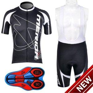 2021 Merida задействуя Джерси Set 2021 Merida Cycle одежда лето с коротким рукавом Cycle Джерси Pro Team Велоспорт Bib Shorts Ciclismo Maillo D