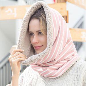 Rayé echarpe femmes multi-hijab cou chaud multifonction Infinity Hedging Bufanda Mode élégant Hijab