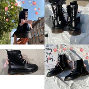 mzund in stivali da mid-vitello stivali di moda Storm Storm Cuir Donne Boots Boots Nuovo designer di lusso Brandboot di alta qualità