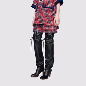 Luxury women's over-the-knee boots in winter, and women's over-the-knee boots in autumn, size: 35-43, Heel:8.5cm