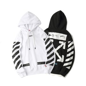 18SS Street OFF hooded hoodie fashion brand men and women couples thin loose hoodie hoodie fashionUZTX