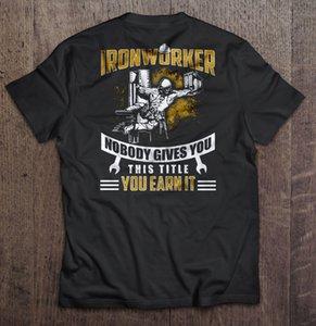 Hommes T-shirt Ferronnier personne ne vous donne ce titre vous gagnez le sport t-shirt femmes Sweat à capuche à capuche