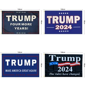 2024 Election Flags President Donald Trump Elections Banner Keep America Great Again Flag Multi Style New Arrival 12ls P2