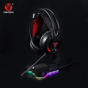 Fantech Gaming Headset casque gamer PS4 PC filaire 3,5mm casque de jeu RGB avec micro et support