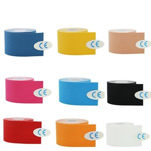Elastic Kinesiology Sports Tape Athletic Strapping Gym Tennis Fitness Running Bandage Knee Relief Knee Pads Care