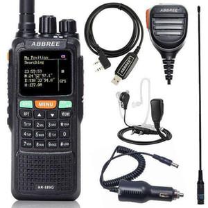 ABBREE AR-889G GPS 10W Powerful Portable Walkie Talkie Cross Band Dual Band Long Range Ham Two Way Radio Communicator1