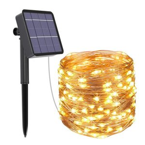 Christmas decoration 10M 20M LED outdoor Solar String Lights Christmas Tree Decorations 2021 New Year Decorations Navidad 2020