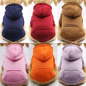 Sporty Pet Dogs Pocket Sweater Dog Clothes Warm Puppy Cat Apparel Festival Decoration 18 Designs BK20