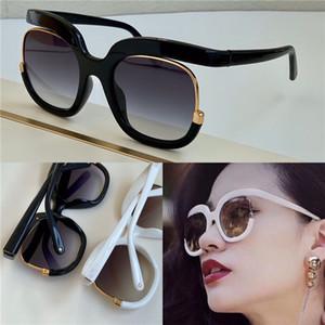 Popüler Moda Yeni Güneş Gözlüğü 863 Kadınlar Tasarım Büyük Gözlük Özel Tasarım Yuvarlak Çerçeve Cömert Zarif Stil En Kaliteli UV400 Kutusu Ile