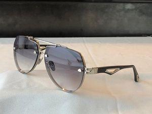 O rei novos homens óculos moda moda óculos de sol top ao ar livre uv400 óculos de sol seleção de forma quadrada de quadro de metal de primeira classe para enviar caixa